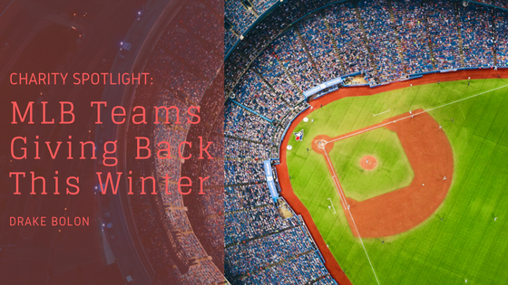 Charity Spotlight: MLB Teams Giving Back This Winter