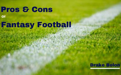 Pros & Cons of Fantasy Football